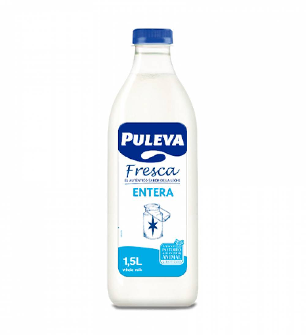 Puleva Fresca Entera PET 1,5L