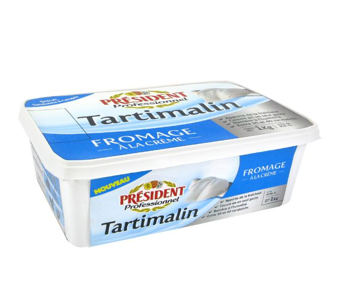 Président Profesional Tartimalin queso crema 1 kg